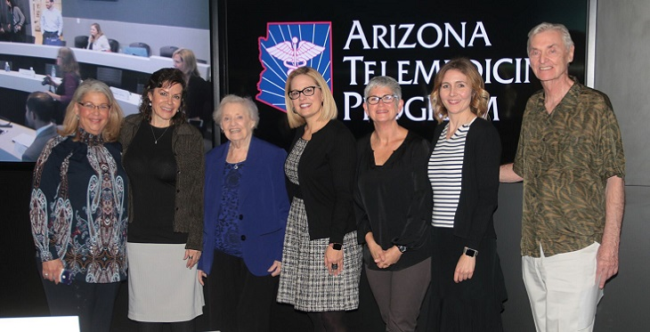 Congresswoman Sinema, CBWW program staff and friends of the program.