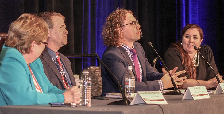 Panelists discuss advanced telehealth legal and regulatory topics at SPS 2017.